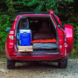 RAV4 Camper Conversion