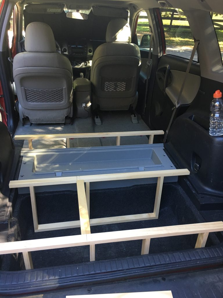 My DIY RAV4 Camper Conversion - Sleeping in a Car