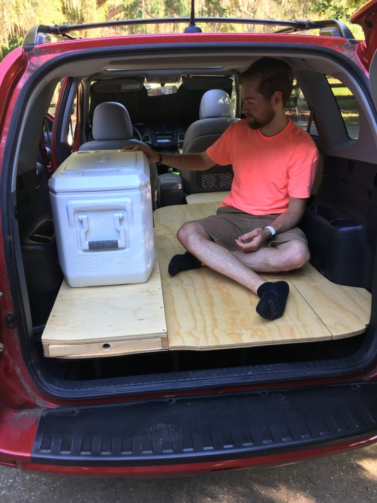 My DIY RAV4 Camper Conversion - Sleeping in a Car